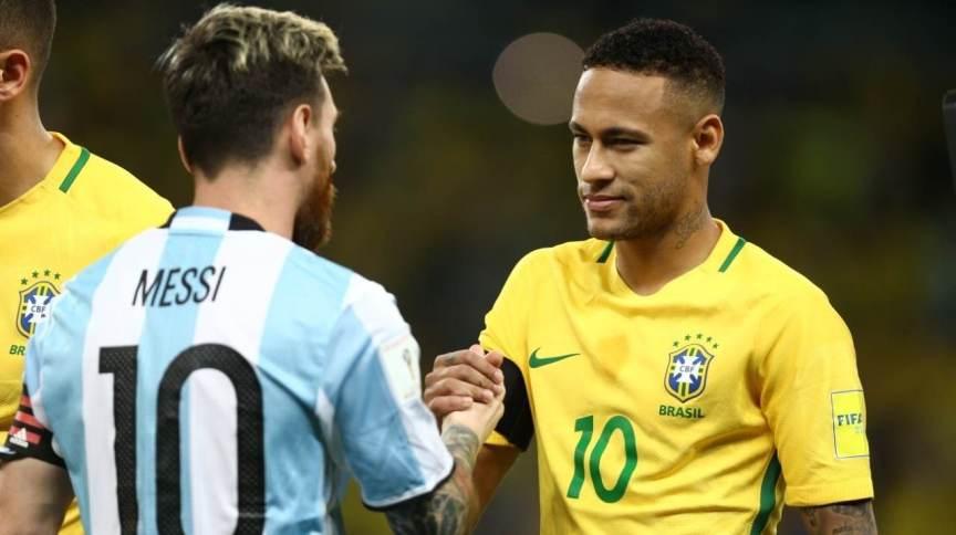 Lionel Messi e Neymar, durante partida disputada em 2016, para as eliminatórias da Copa de 2018