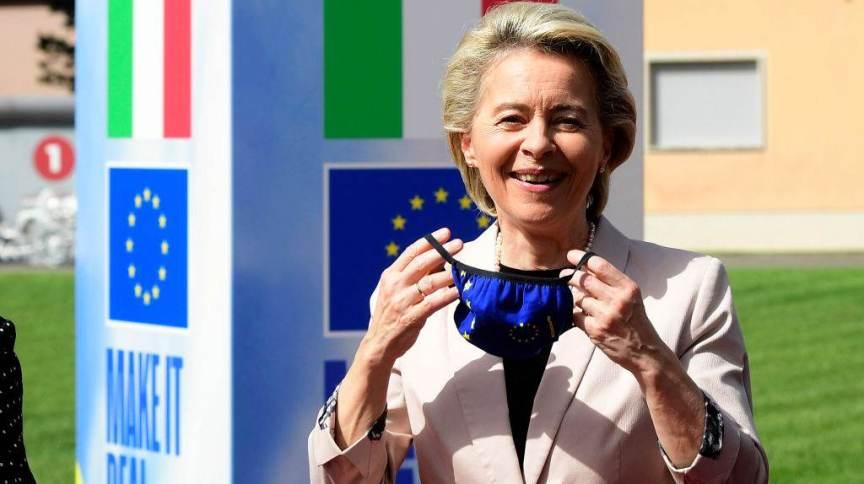 Presidente da Comissão Europeia, Ursula von der Leyen