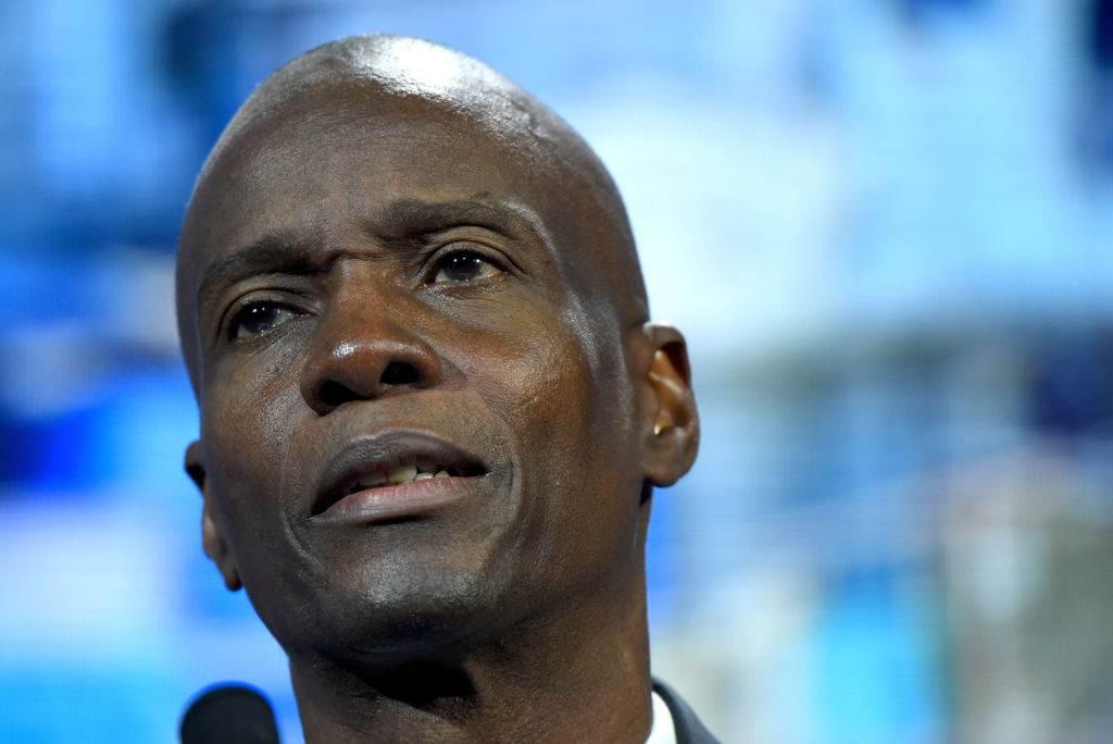 O presidente do Haiti, Jovenel Moise