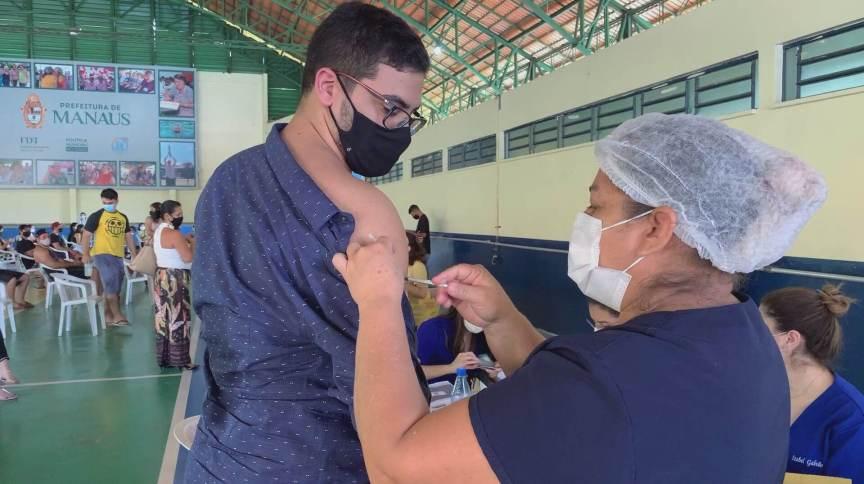 Vacinação de jovens no Amazonas (10.Jul.2021)