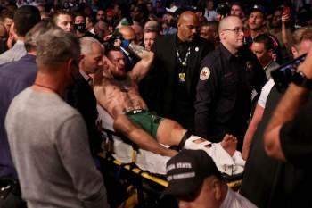 Lutador de UFC quebrou perna esquerda em luta contra Dustin Poirier e provocou adversário nas redes