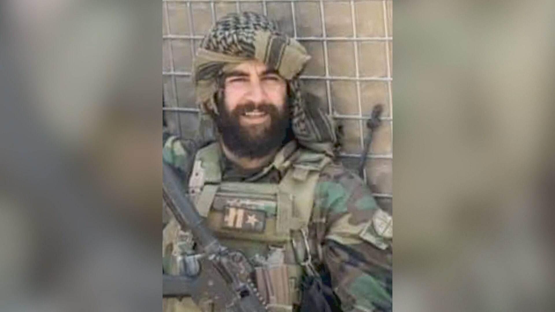 Soldado afegão que foi executado por militantes do Talibã