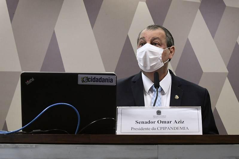 Presidente da CPI da Pandemia, Omar Aziz (PSD-AM)