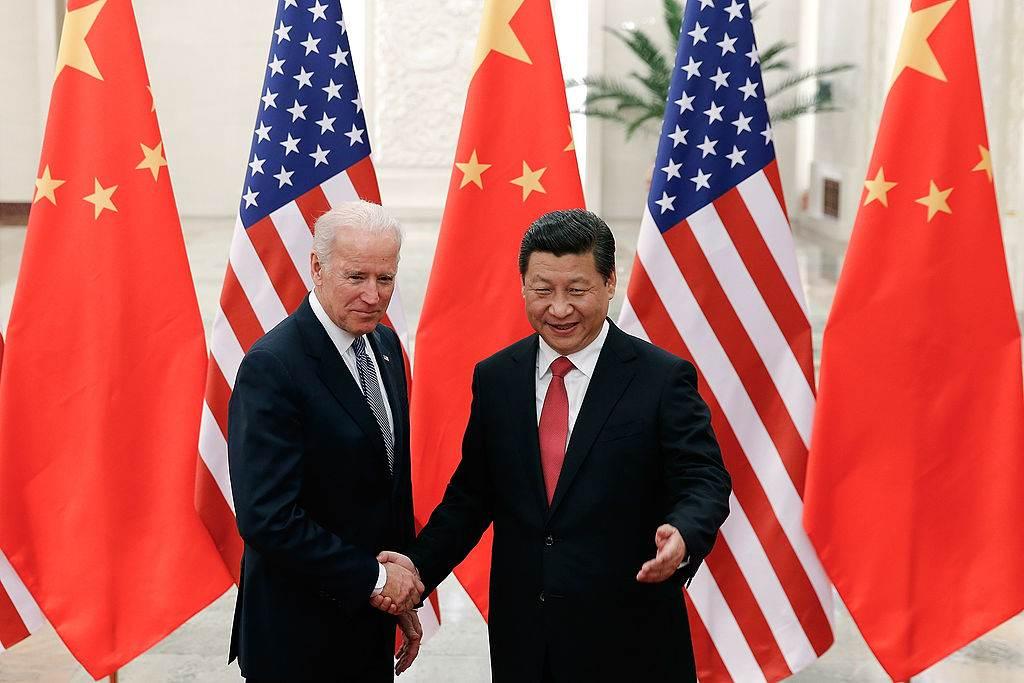 Joe Biden e Xi Jingping