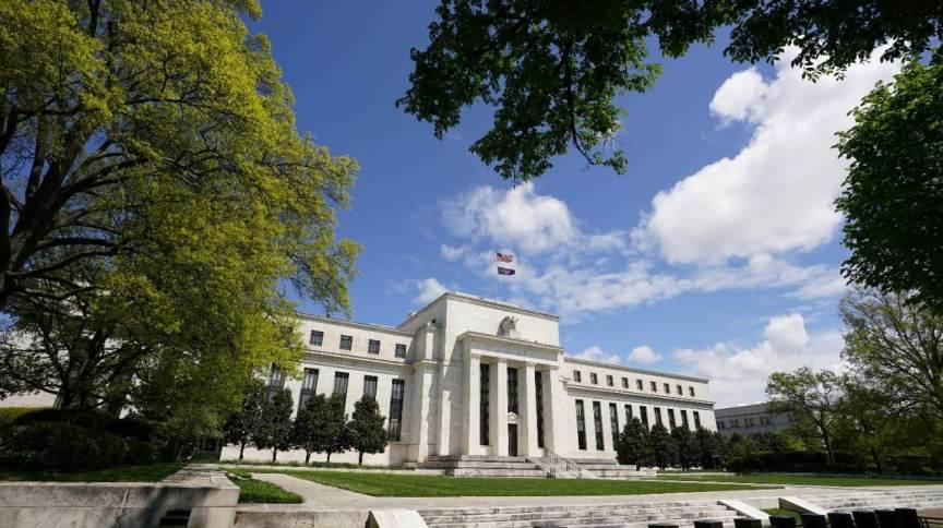 O Federal Reserve, banco central dos Estados Unidos. 01/05/2020.
