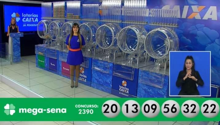 Concurso2.390 da Mega-Sena