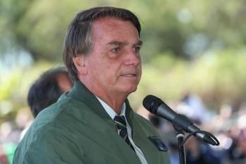 Senador afirmou que Bolsonaro 'acordou bem disposto' após primeira noite internado