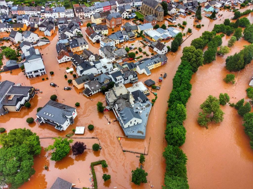 Enchentes Europa
