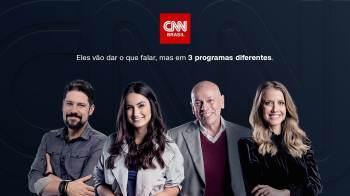 A CNN Brasil anuncia o lançamento de três novos programas em sua grade, todos com estreia para o segundo semestre de 2021