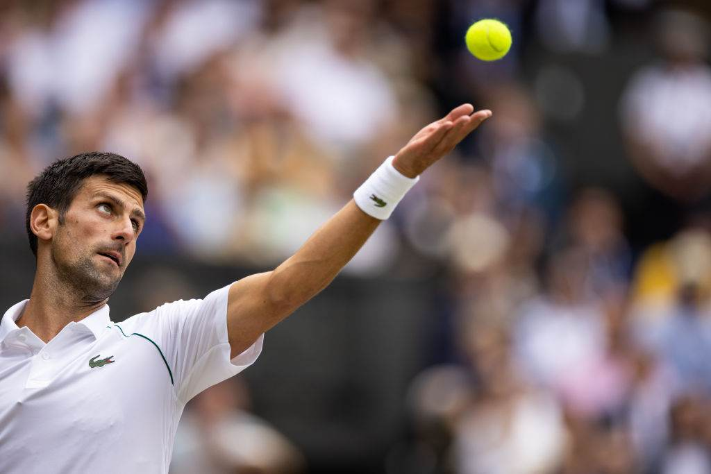 Tenista Novak Djokovic