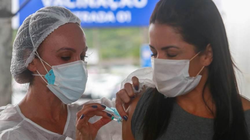 Vacinação contra a Covid-19 em Santa Catarina