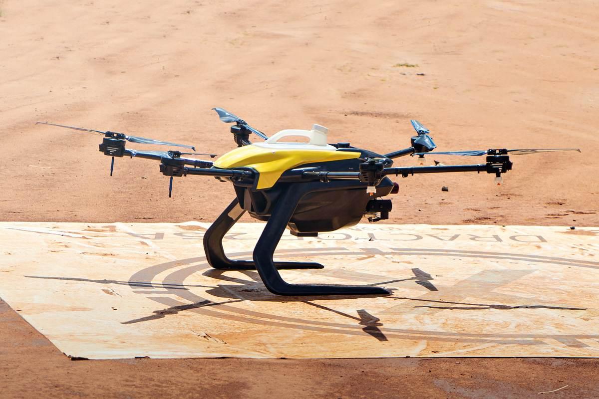 Drone Dractor_25A, da XMobots