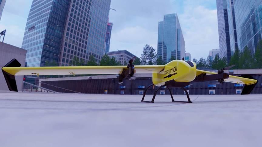 Drone Drago (protótipo), da XMobots