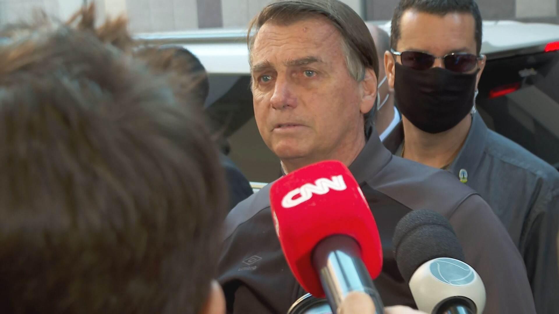 Bolsonaro recebe alta e deixa hospital em SP (18-07-2021)