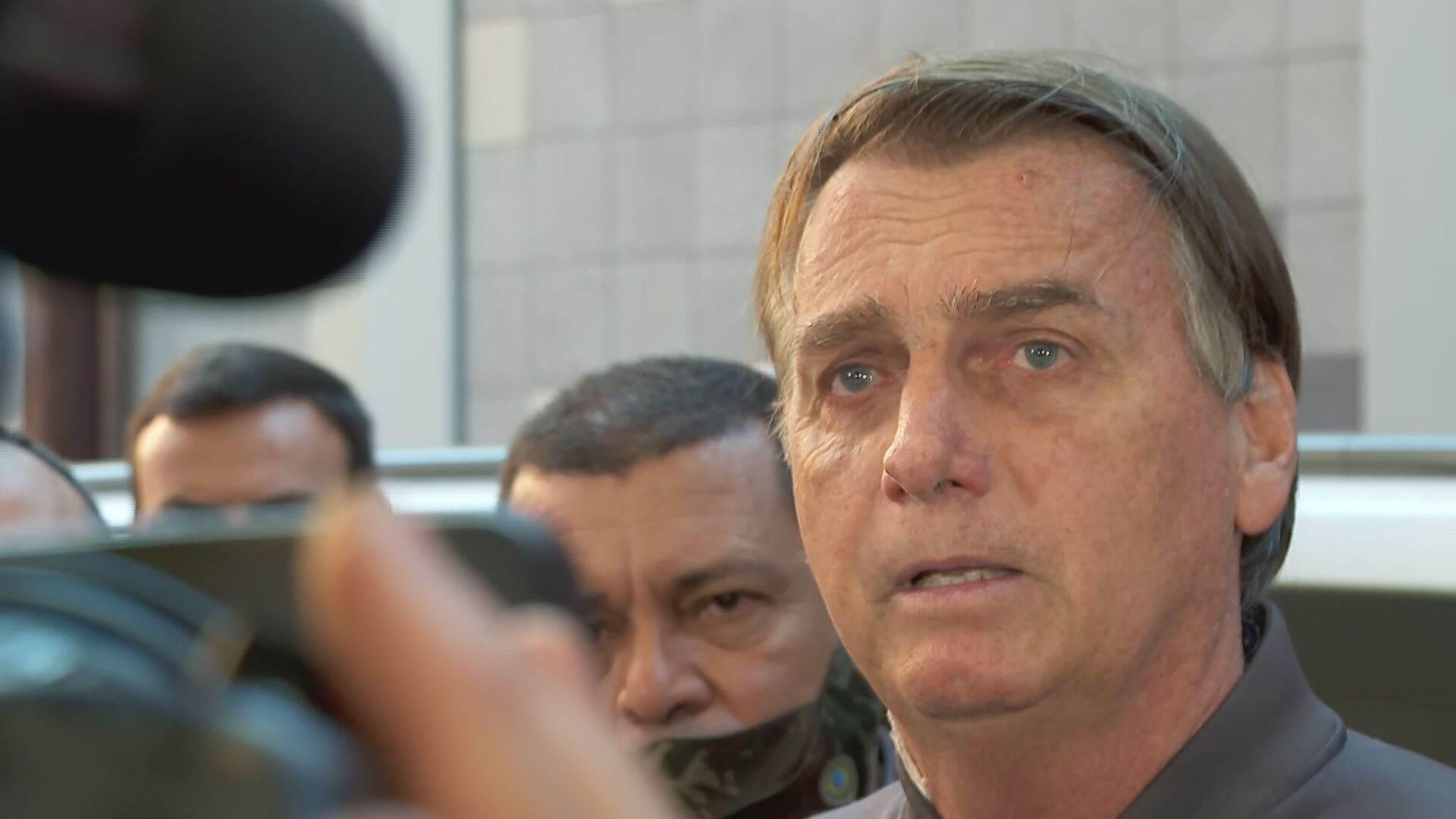 Bolsonaro tem alta e deixa hospital em São Paulo (18-07-2021)