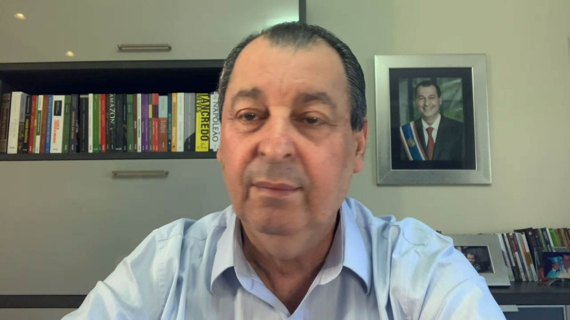 Senador Omar Aziz (PSD-AM), presidente da CPI da Pandemia (18-07-2021)