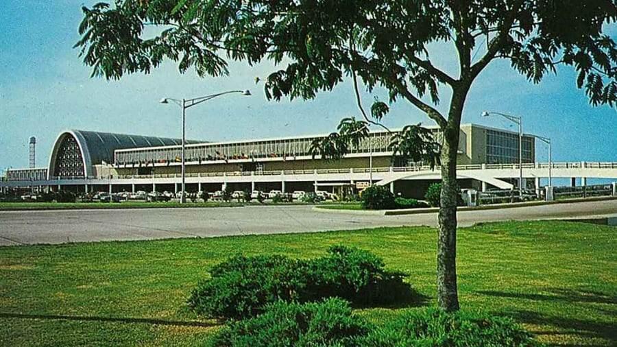 Aeroporto abandonado nos EUA