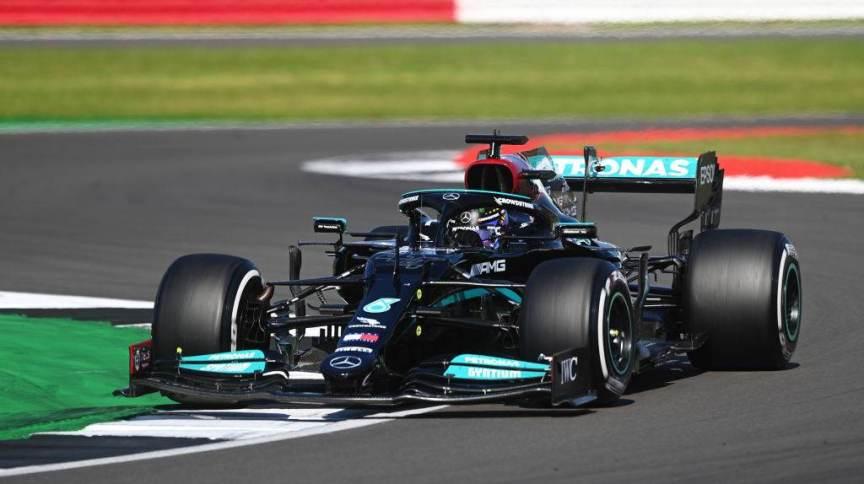 Lewis Hamilton em GP da Inglaterra
