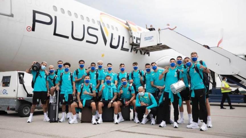 Seleção brasileira começa a treinar em Tóquio