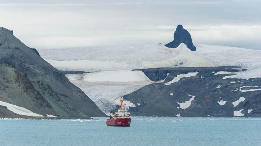 Admiralty Bay na ilha King George, Antártica