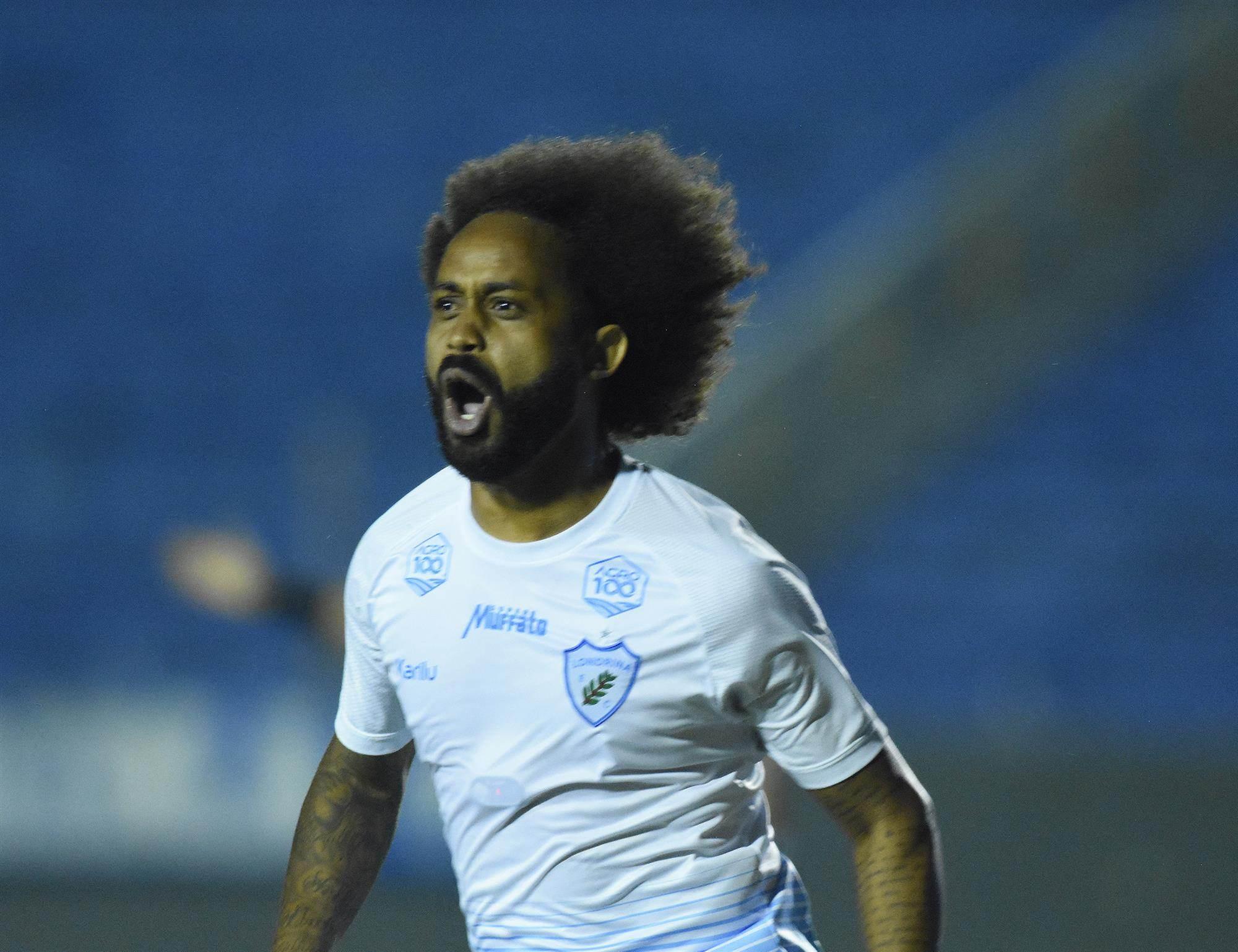 Jogador Celsinho, do Londrina