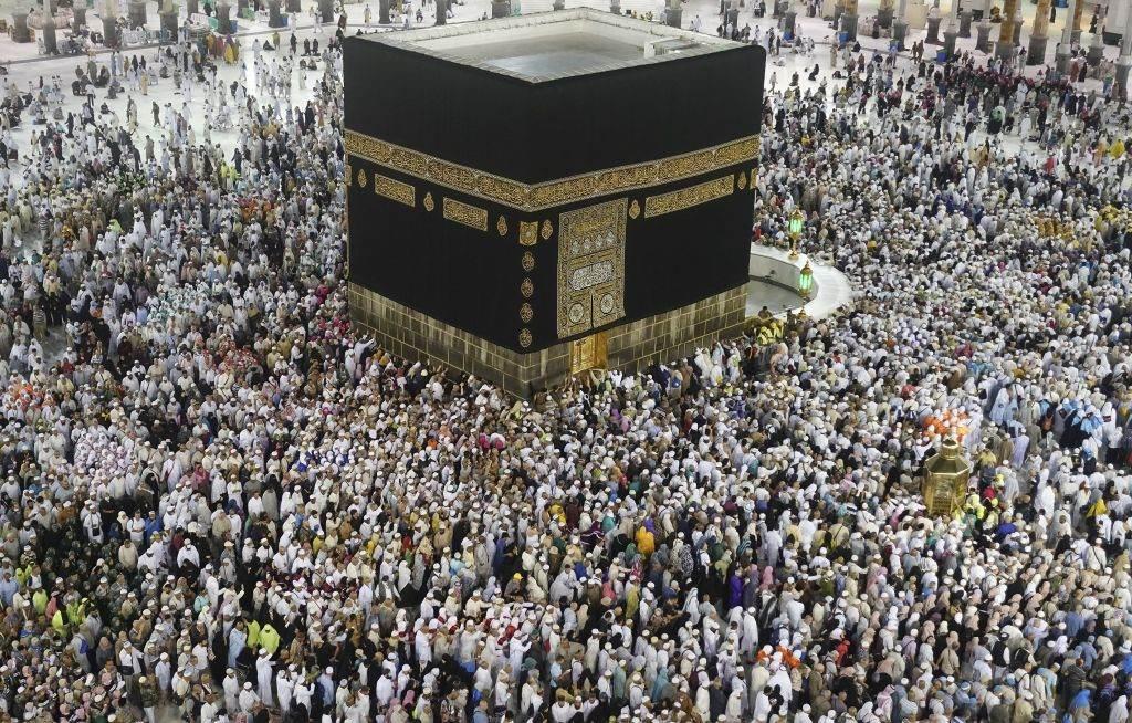 Peregrinos muçulmanos do Hajj, em agosto de 2019