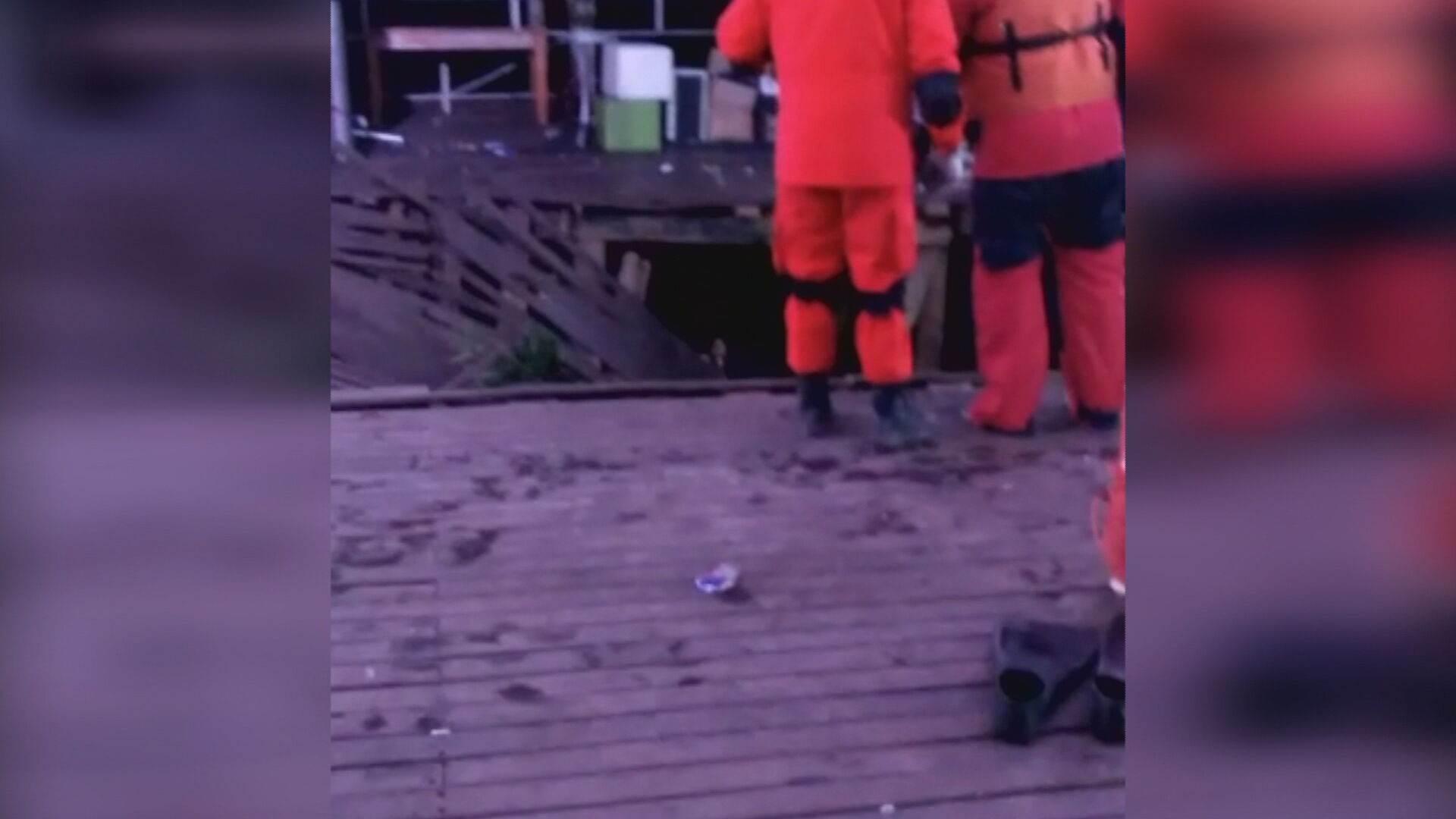 Rompimento de deck de restaurante no RS termina com morte de mulher de 26 anos
