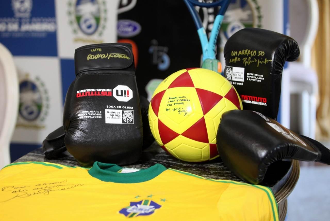 Peças de atletas são doadas para para leilão Atletas Voluntários/ Catharina Gil