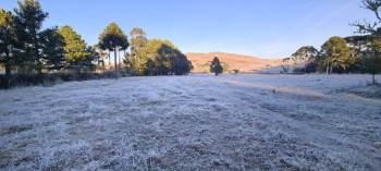 Cidade pode ter temperaturas negativas na zona Sul; Centro-Sul do país pode ter neve e geadas