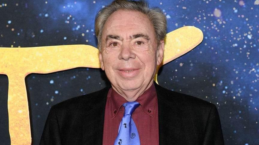 Compositor e produtor musical Andrew Lloyd Webber
