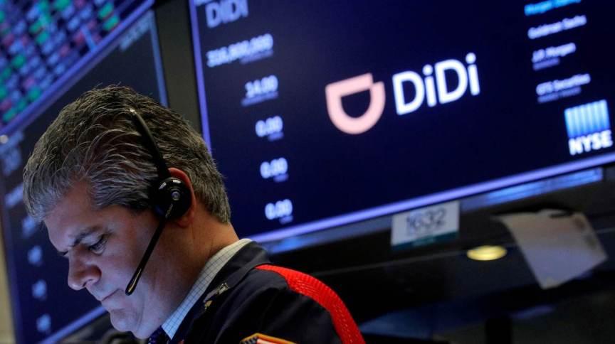 Chinesa Didi em estreia na Bolsa de Nova York