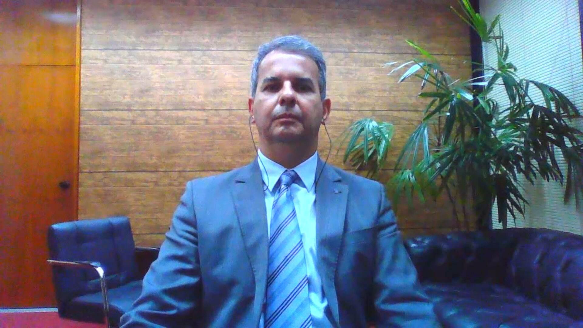 Presidente da ANPR, Ubiratan Cazetta, em entrevista à CNN