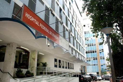 Hospital Federal de Ipanema, no Rio de Janeiro (20.jul.2021)