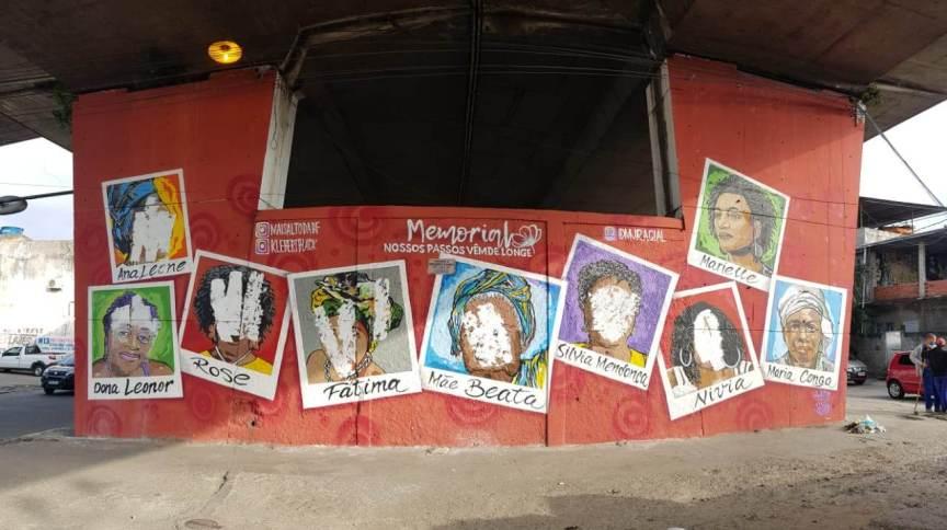 Polícia Civil informou que aguarda o comparecimento dos responsáveis pelo mural na unidade para formalização do registro de ocorrência