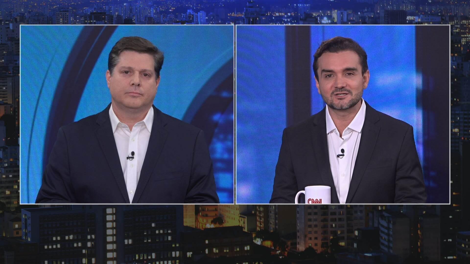 Deputados federais Baleia Rossi e Celso Sabino em O Grande Debate