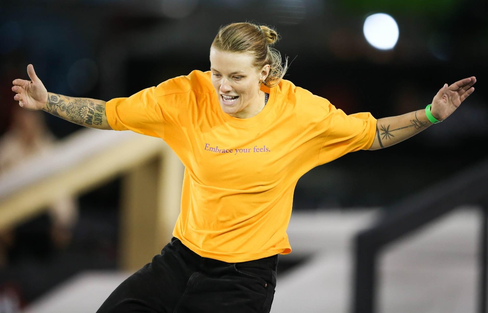 Skatista Candy Jacobs é 1ª atleta a testar positivo para Covid-19 em Tóquio
