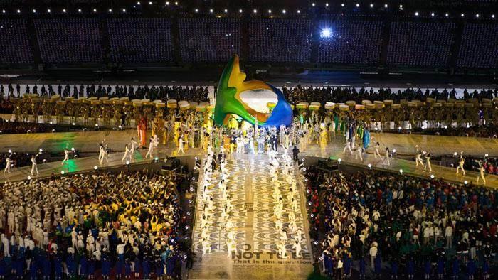 Abertura da Olimpíada do Rio de Janeiro em 2016