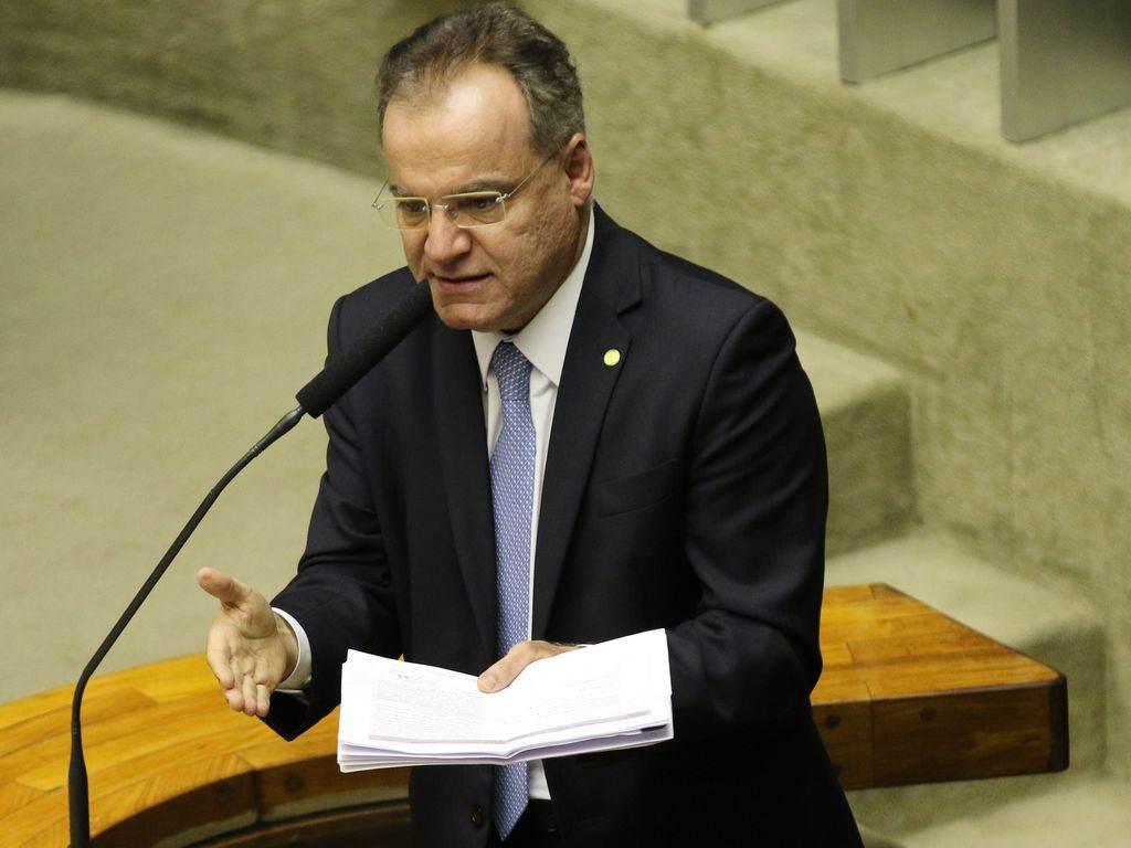 O relator da reforma da Previdência na Câmara, Samuel Moreira