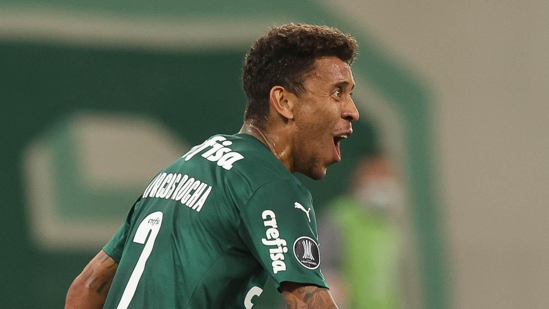 Marcos Rocha, durante jogo do Palmeiras pela Libertadores