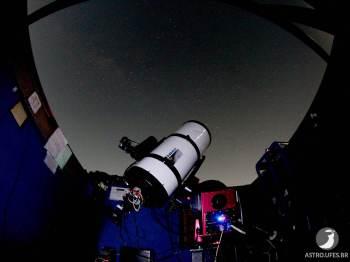 Acesso ao telescópio é gratuito e indicado para apaixonados por astronomia, estudantes e pesquisadores