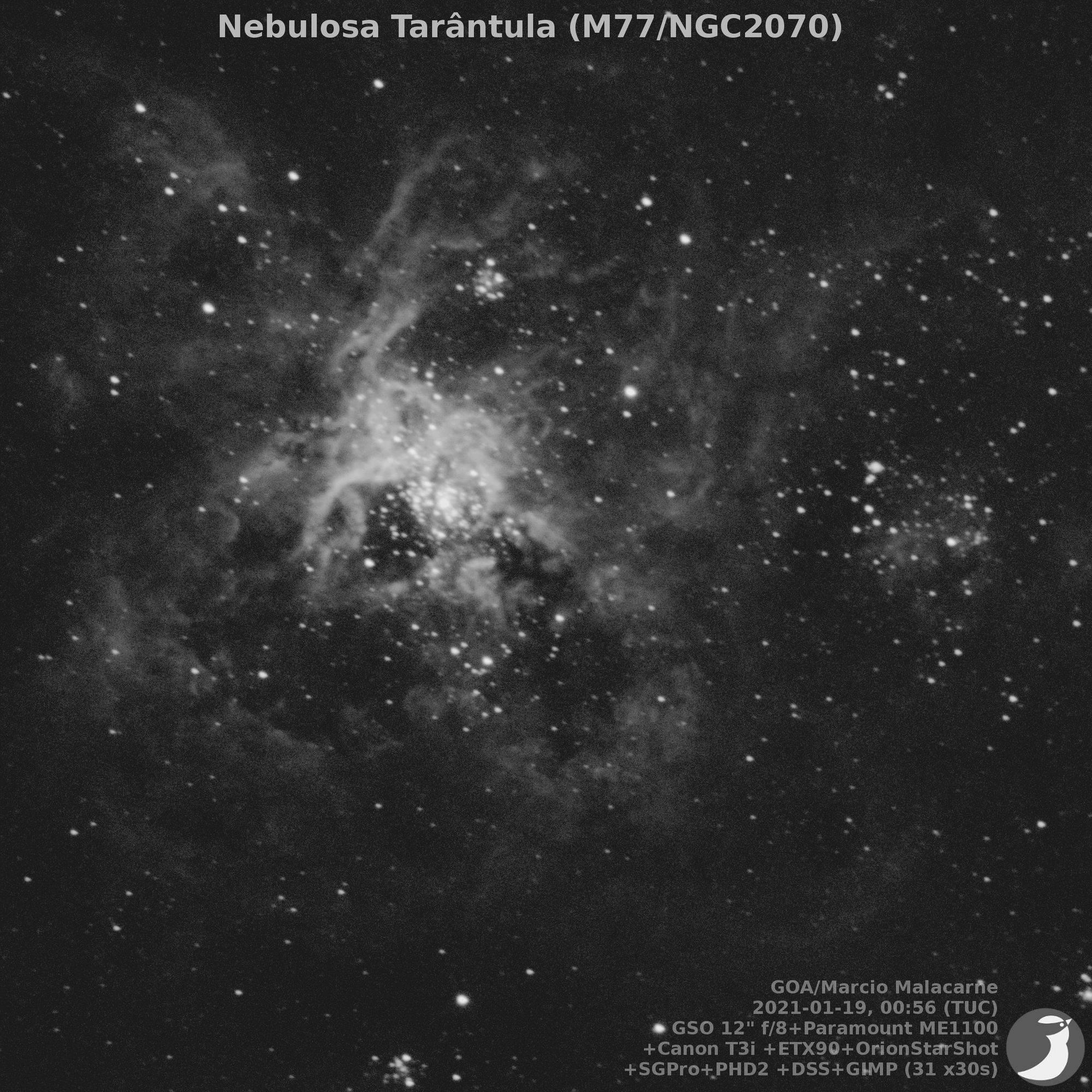 Imagens captadas pelo telescópio Remoto do Espírito SantoDivulgação