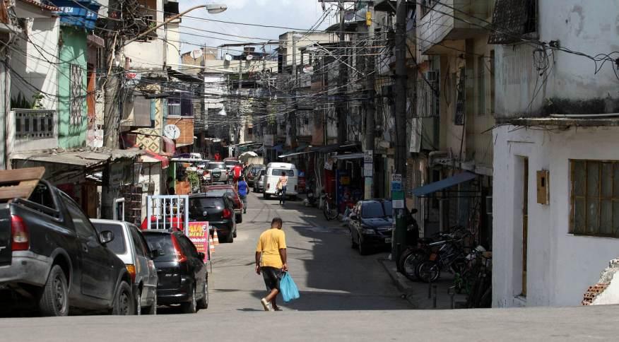 Complexo da Maré, na zona norte do Rio, foi uma das áreas estudadas