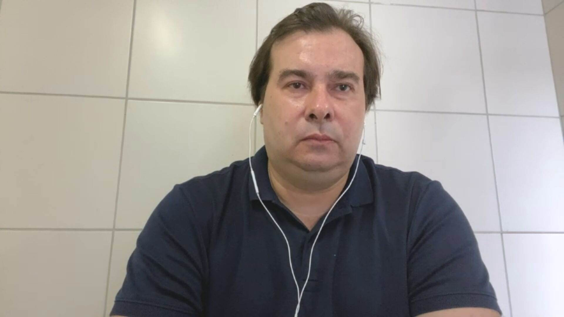 Deputado federal Rodrigo Maia (sem partido) em entrevista à CNN (22.jul.2021)