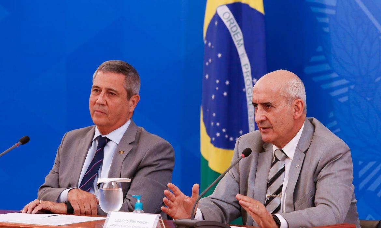 General Braga Netto e General Ramos