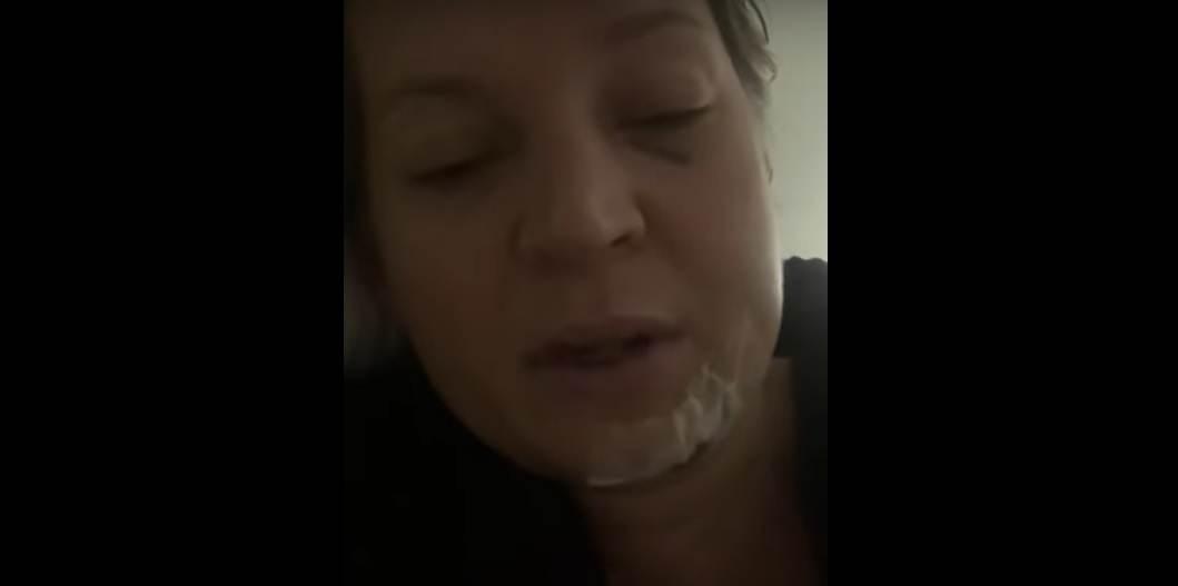 Deputada Joice Hasselman mostra ferimentos