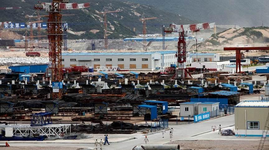 A usina nuclear de Taishan, na China