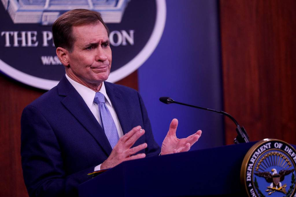 John Kirby, porta-voz do Pentágono