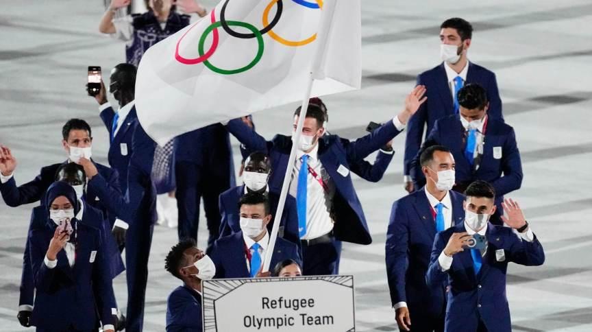 Delegação de atletas refugiados foi representada por Yusra Mardini e Tachlowini Gabriyesos