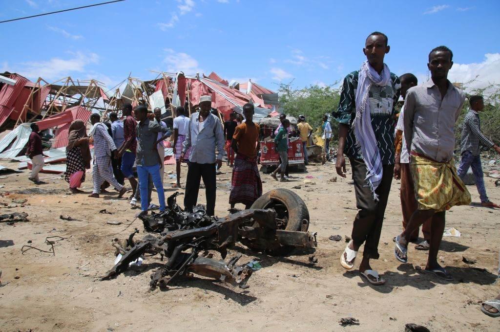 carro bomba - Terroristas do Al-Shabaab