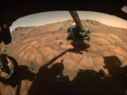 Nos últimos dias, o robô realizou diversas explorações pelo solo acidentado do planeta vermelho. Confira as imagens